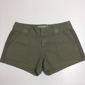 Old navy army green cargo shorts
